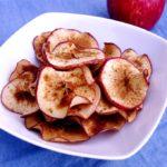 Crispy Cinnamon Apple Chips