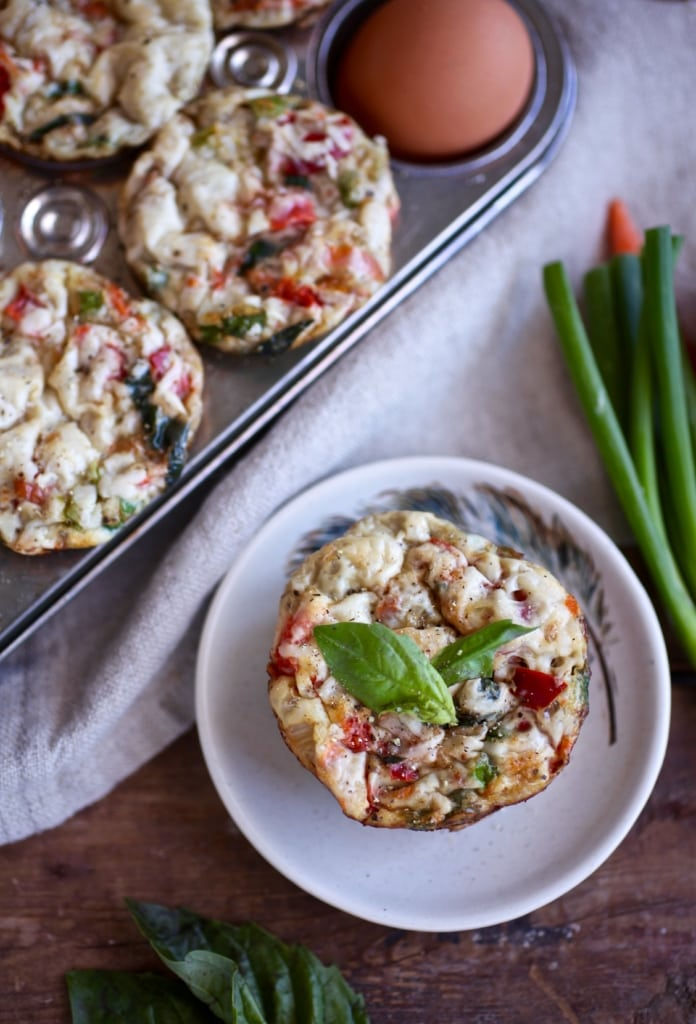 Easy Egg Muffins (Gluten & Dairy Free) via Nutritionist in the Kitch