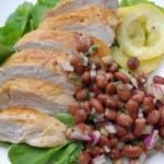 "A Taste Of Amsterdam & Lemony Chicken with ""Bruine Bonen Salade"""