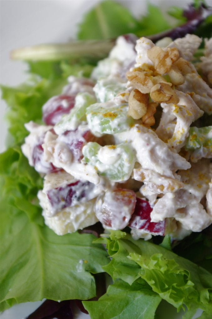 pics Waldorf Salad with Creamy Yogurt Dressing