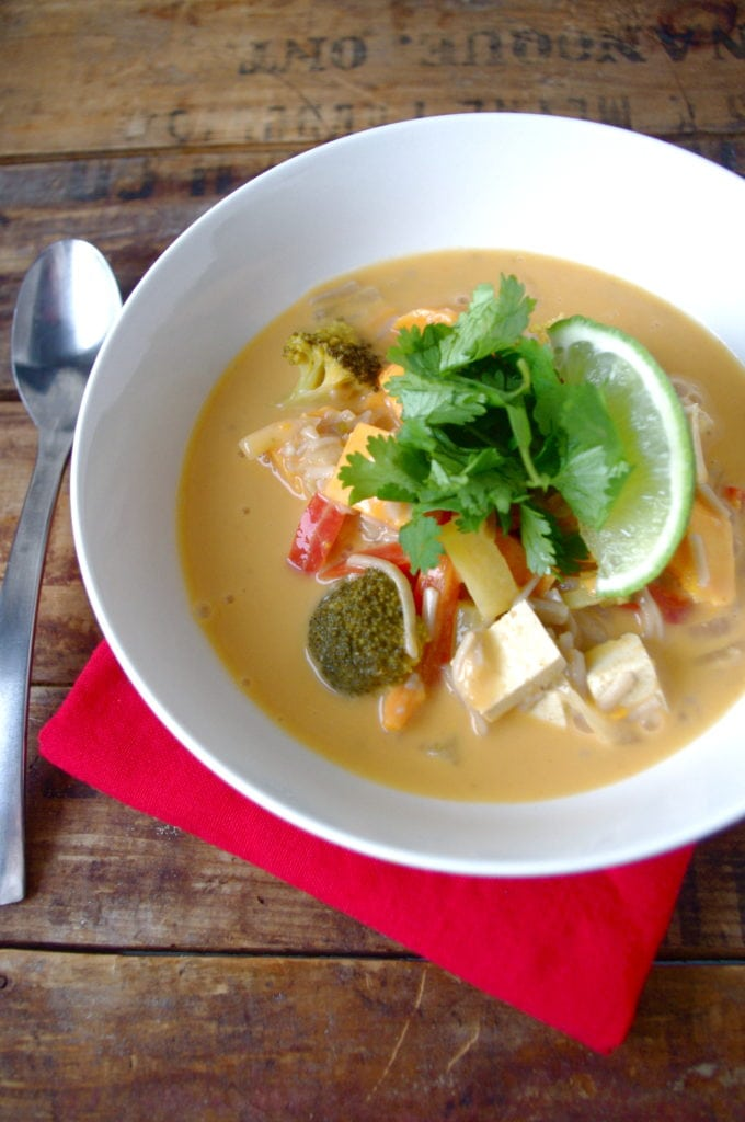 Meatless monday sweet potato tofu thai curry stew nutrition in i forumfinder Choice Image