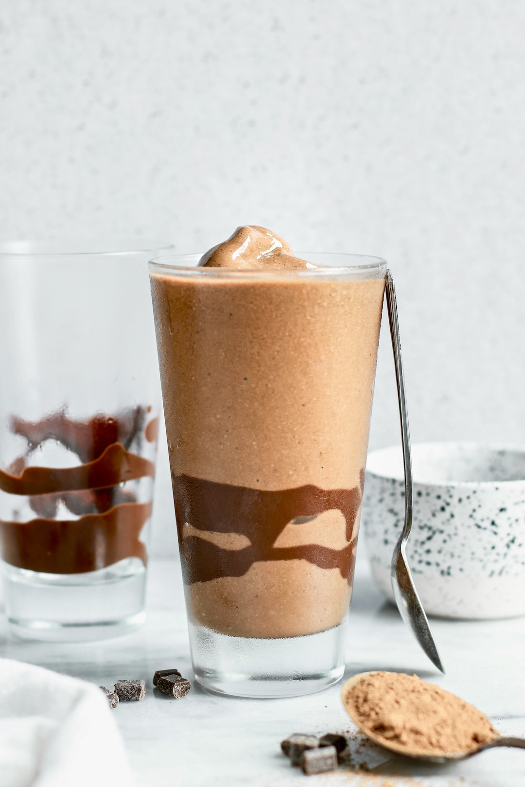 Healthy Creamy Chocolate Protein 'Frosty'