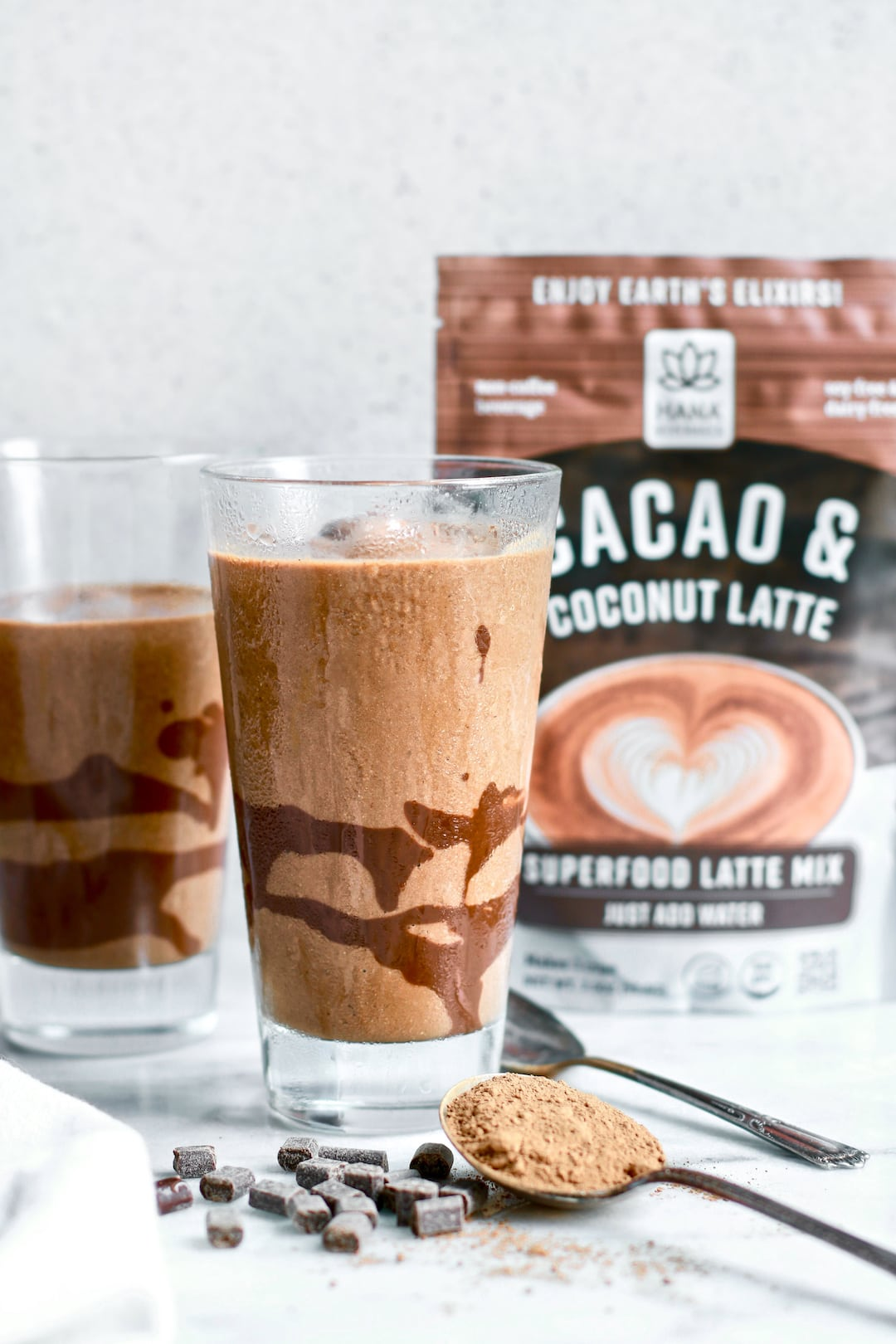Delicious Dairy Free Chocolate Protein 'Frosty'