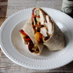 Roasted Vegetable & Balsamic Chicken Wrap…and Challenge Update #3!
