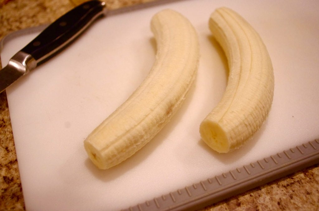 Step By Step: Chocolate-Covered Banana & PB Bites (GF and Vegan!)