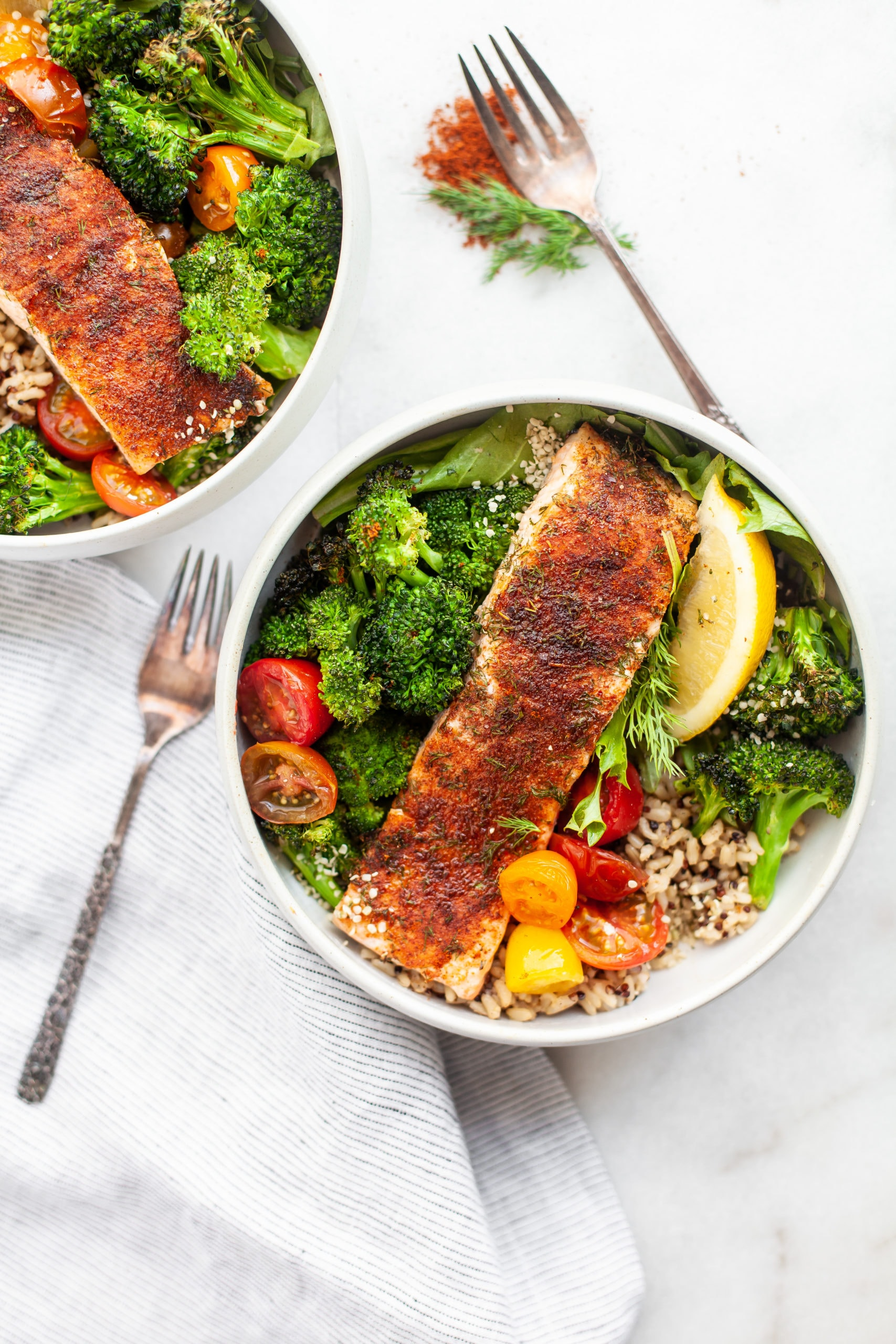 Quick and Healthy 20-Minute Sweet Chili Rubbed Salmon Filets