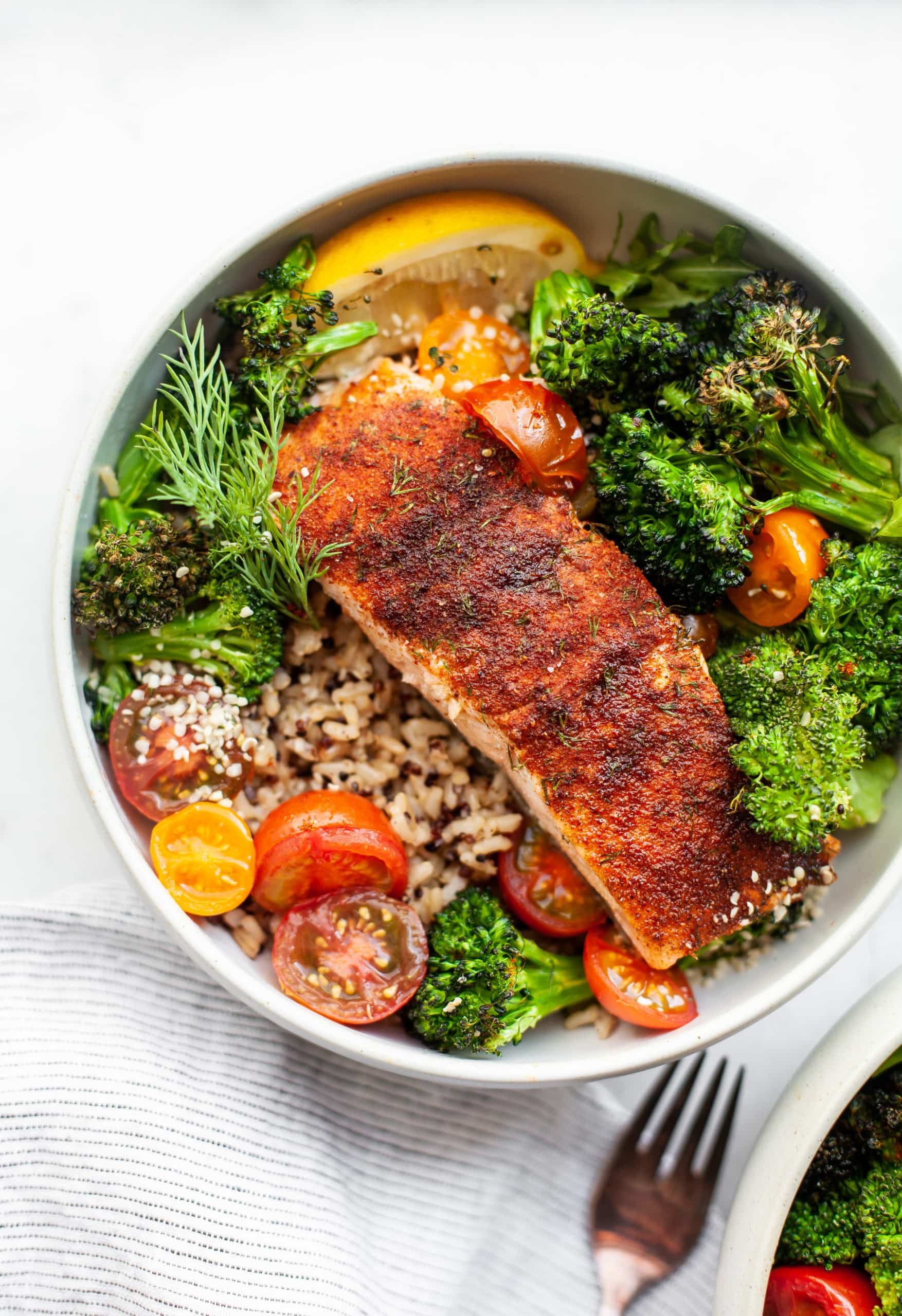 The Best 20-Minute Sweet Chili Rubbed Salmon Filets