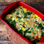Chicken & Veggie Quinoa Casserole (gluten & dairy free!)… and Fave Five Friday: Simple & Delicious Casseroles!