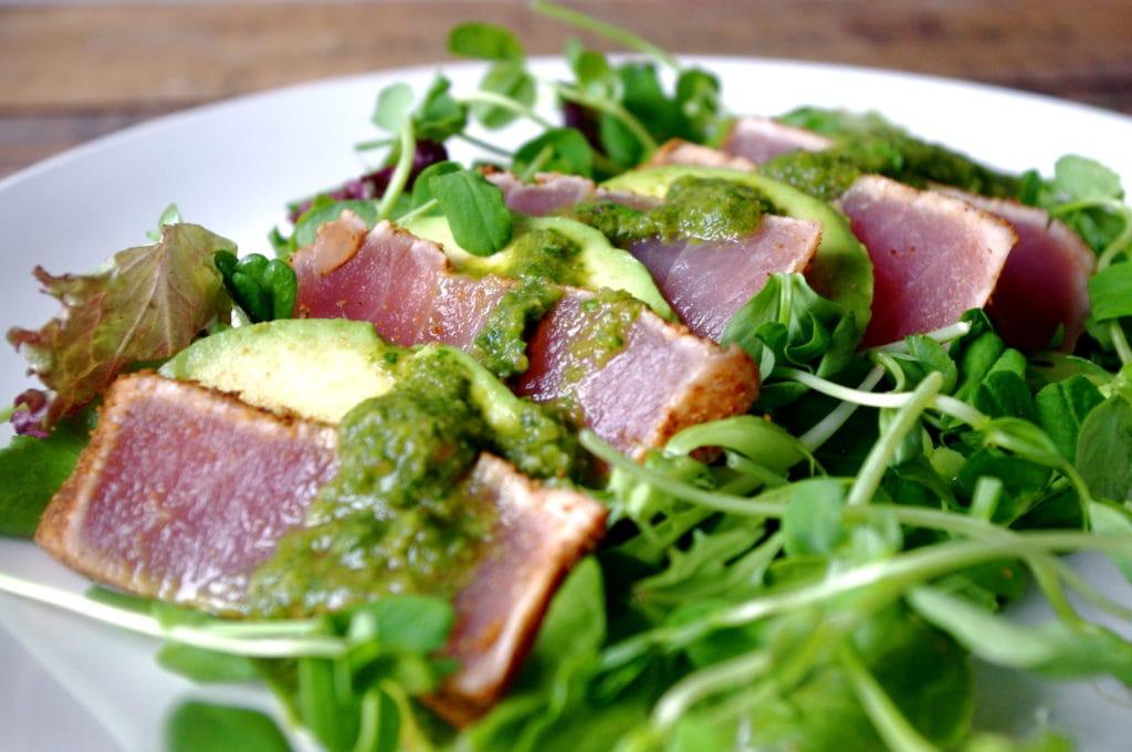 recipe: tuna steak salad dressing [1]