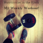 My Weekly Workout Routine!