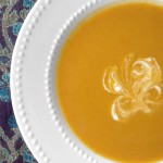 Creamy Vegan Pumpkin & Sweet Potato Soup and A Fall Farm Visit