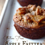 Juli's Apple Fritters … in muffin form! (GF!)