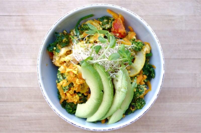 detox quinoa bowl