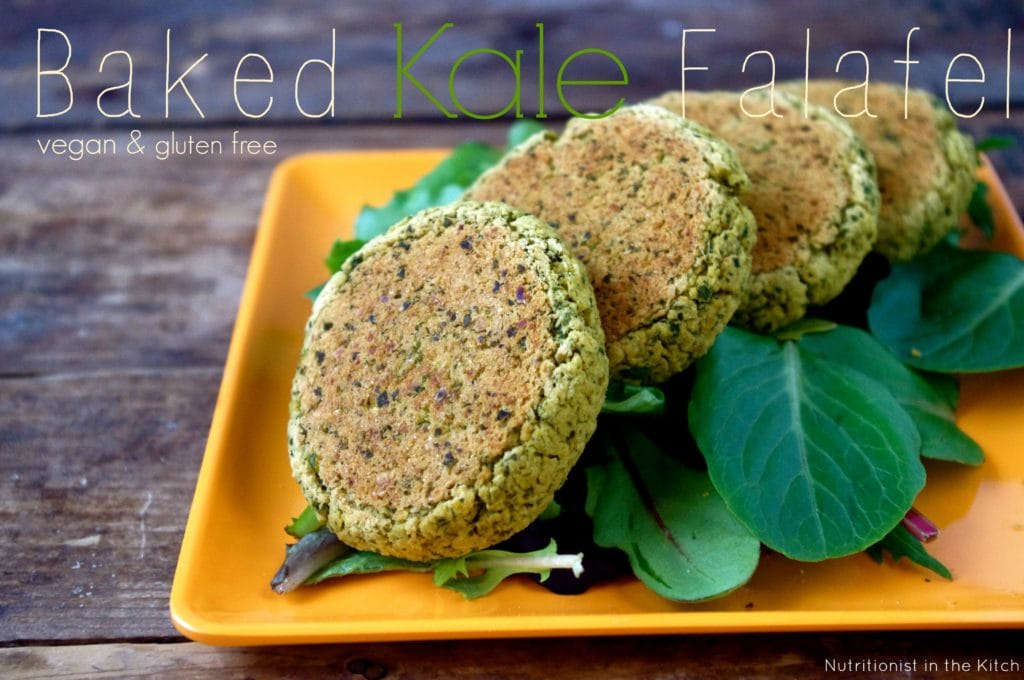 Delicious and simple baked kale falafel vegangluten free d pinit forumfinder Gallery