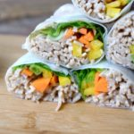 Meatless Monday: Soba Noodle Salad Rolls with Peanut Sauce