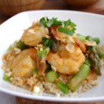 Peanut, Lime & Prawn Curry