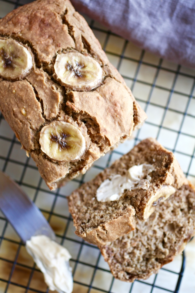 Protein packed banana bread gf df nutrition in the kitch prep time forumfinder Images