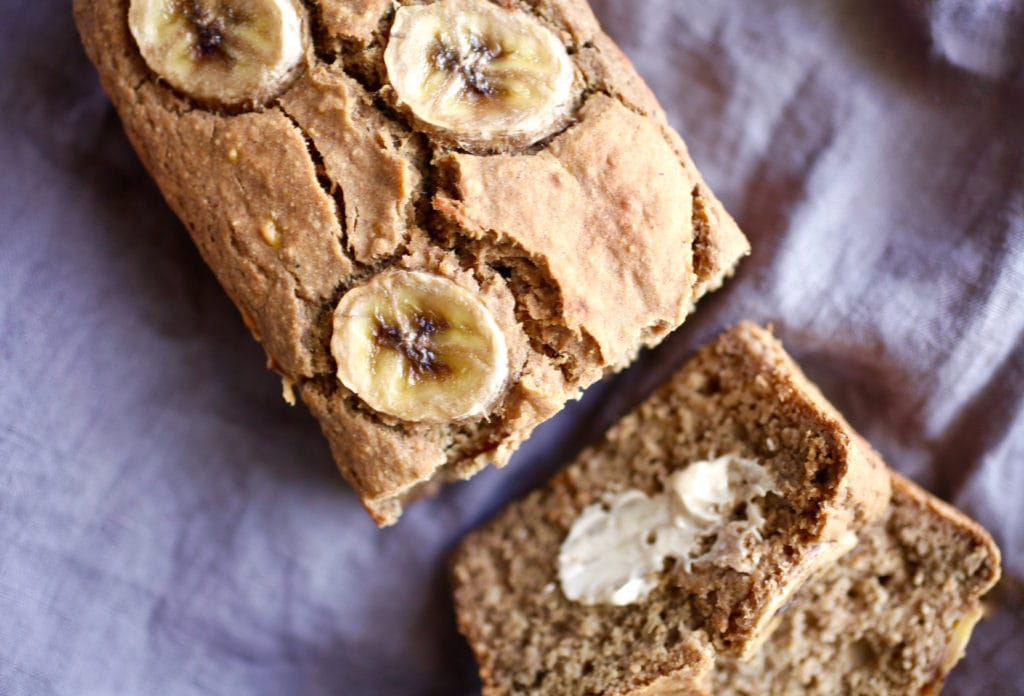 Protein-Packed Banana Bread // GF & DF