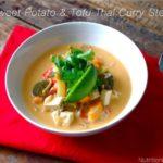 Meatless Monday: Sweet Potato & Tofu Thai Curry Stew