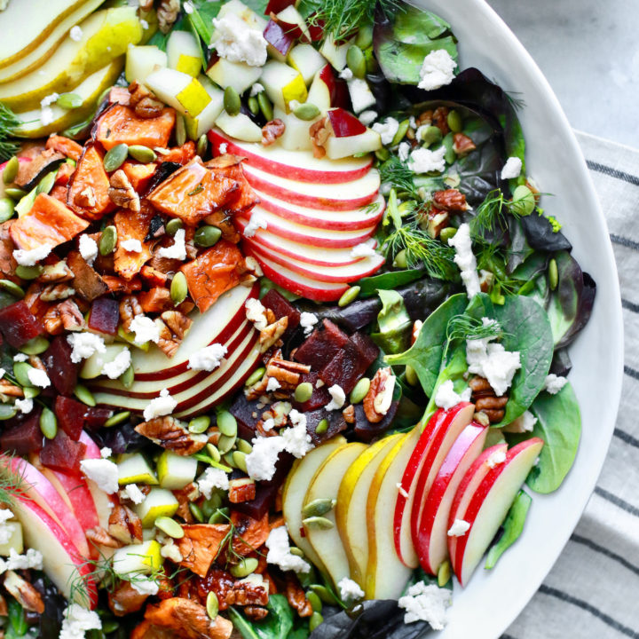 Fall Harvest Chopped Salad