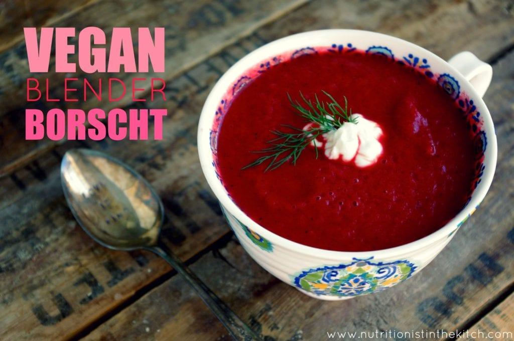 Vegetarian borsch: recipes with photos 92