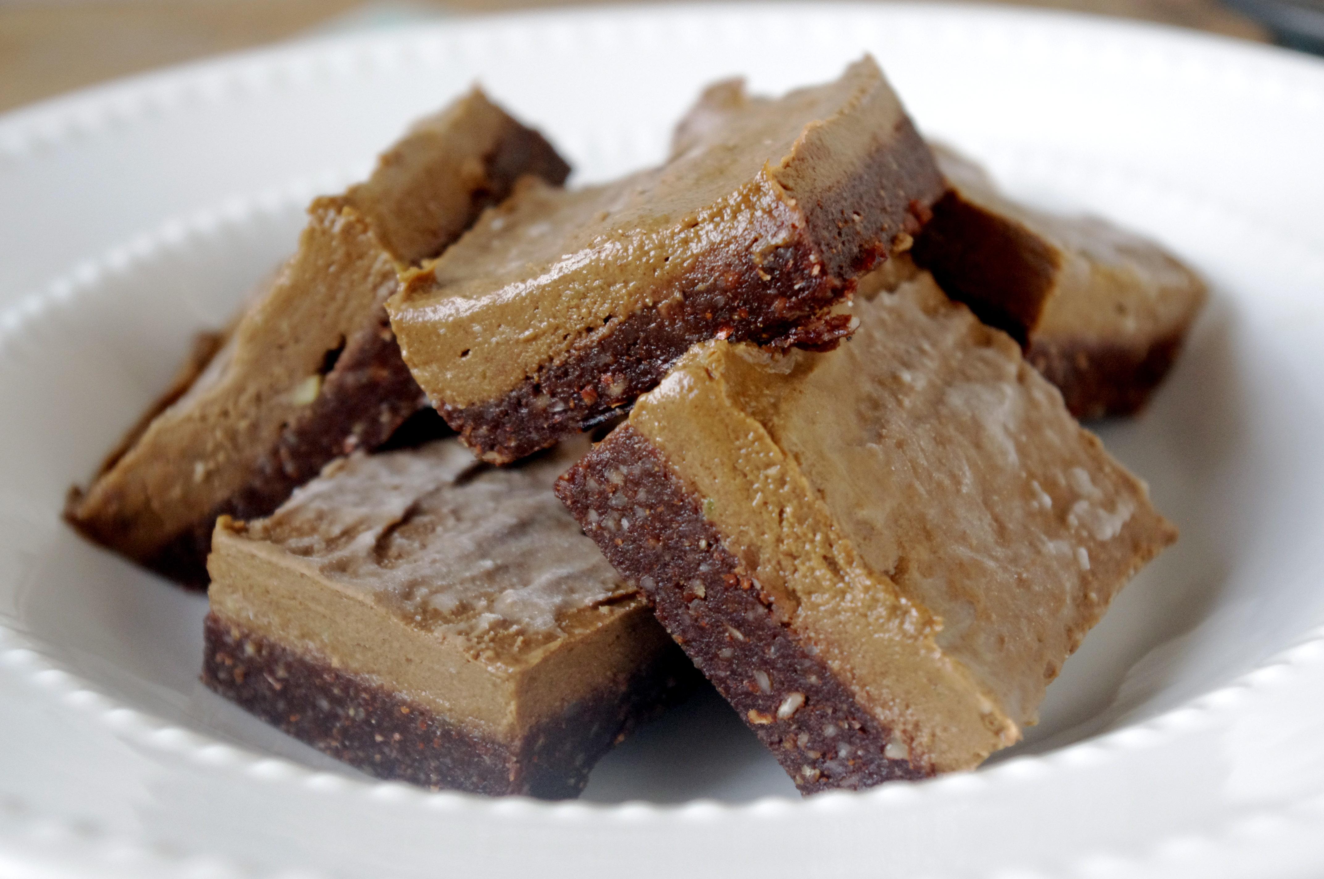 Raw Chocolate Gingerbread & Pumpkin Fudge Squares … a trifecta of ...