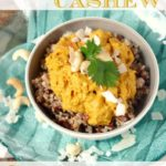 Slow Cooker Cashew Chicken Curry (gluten & dairy free!)