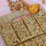 Running on Real Food Guest Post: No Bake Apricot & Dark Chocolate Bars (vegan & can be gluten free!)