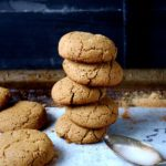 Healthy & Gluten Free Gingersnaps (optional protein addition!)