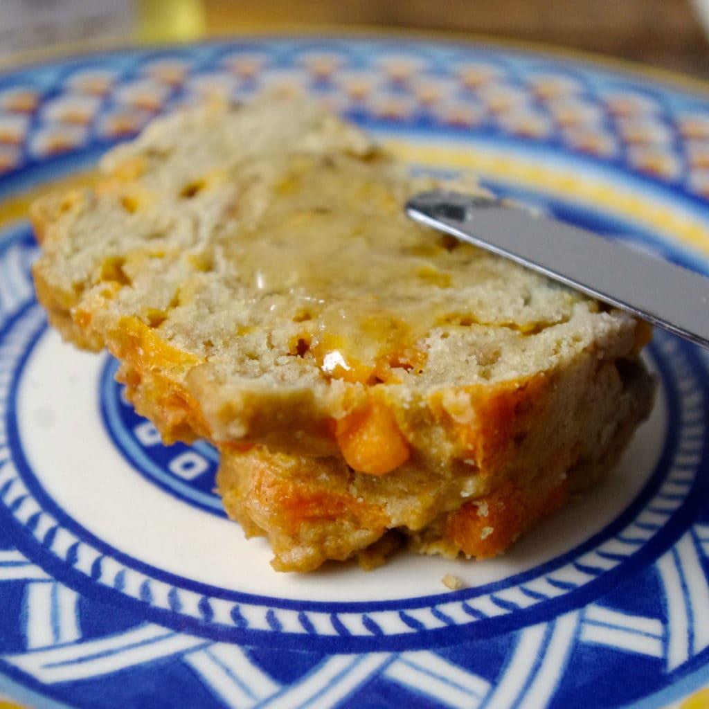 Gluten Free Apple & Cheddar Loaf