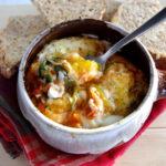 Easy Italian Baked Eggs (gluten free!)