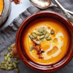 Easy Blender Thai Pumpkin Soup // Gluten & Dairy Free via Nutrition in the Kitch