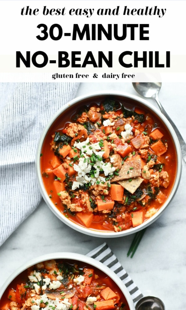Delicious and Healthy 30-Minute No-Bean Chili