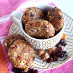 Vanilla, Hazelnut & Superberry Energy Cookies (GF, can be Vegan!)