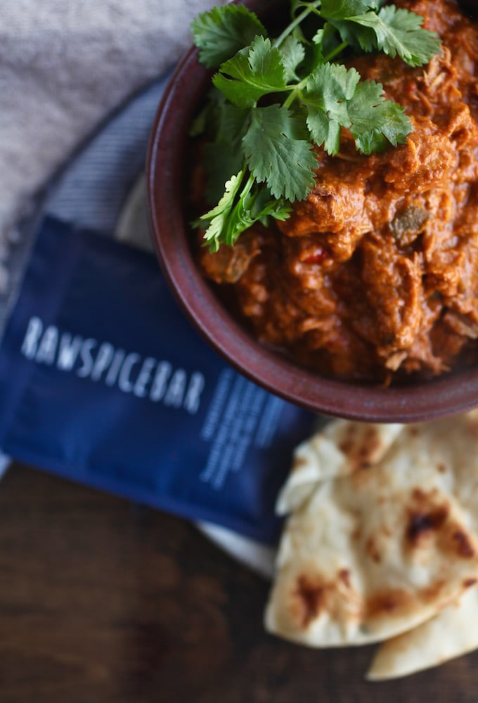 Dairy-Free Slow Cooker Butter Chicken // GF via Nutritionist in the Kitch