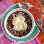 Vegan Chunky Monkey Oatmeal (can be gluten free!)