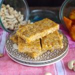 Easter Weekend Vegan Peach Pie Energy Bars (Add Protein Option!)