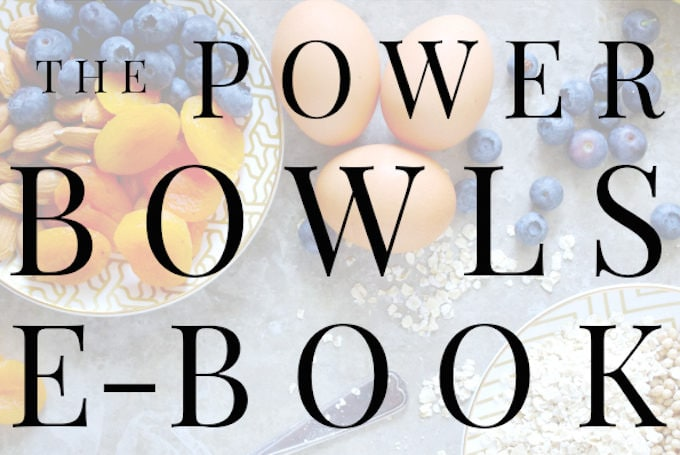 Nutritionist in the Kitch POWERBOWLS Ebook // 10 amazing POWERBOWL recipes along with tons of information all for only $4.99!