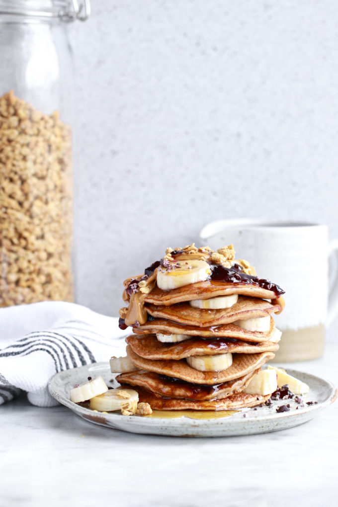The Best Easiest Healthy Banana Pancakes Ever