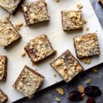 Gingerbread Graham Crumble Bars