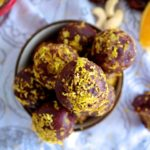Christmas Chocolate Orange Balls