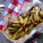 The Best (Baked) Herb & Garlic Fries Ever