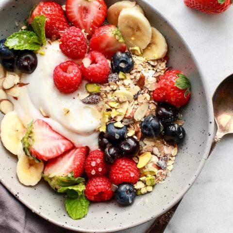Simple & Healthy Breakfast Muesli for easy mornings