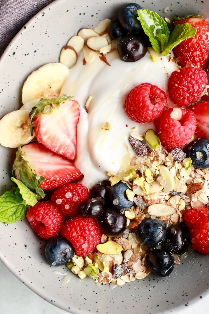 Simple & Healthy Breakfast Muesli - easy, quick, and healthy!