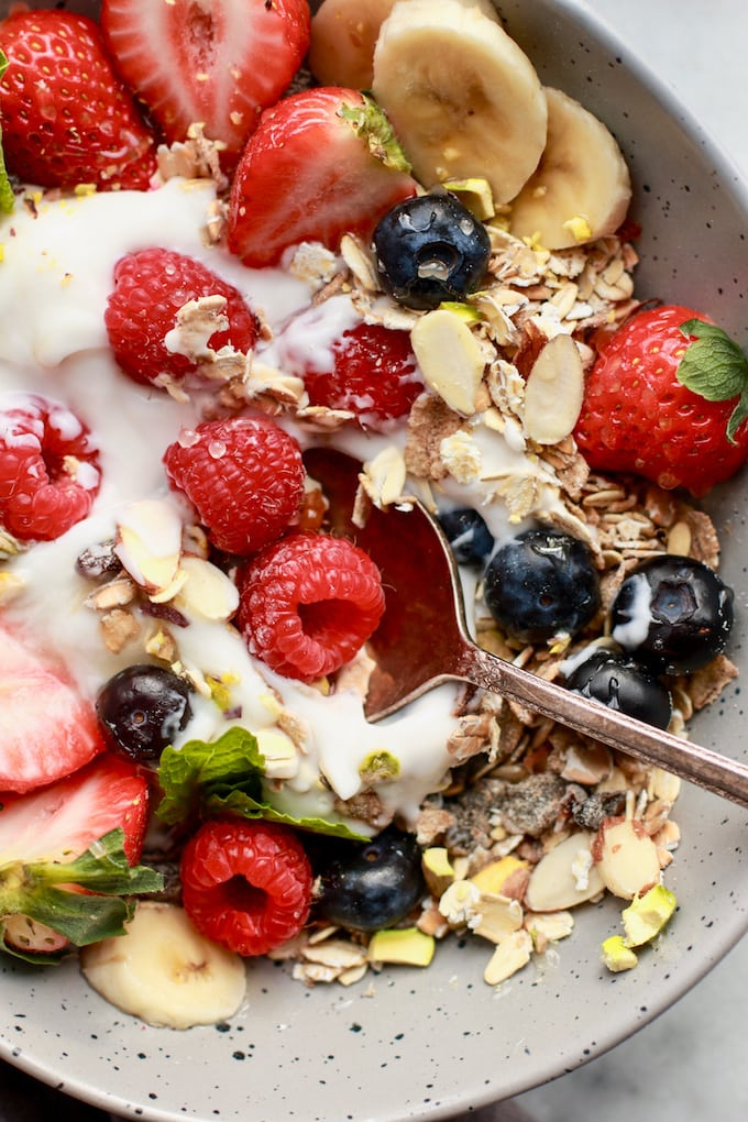Simple & Healthy Breakfast Muesli - Gluten Free, Dairy Free, Vegan