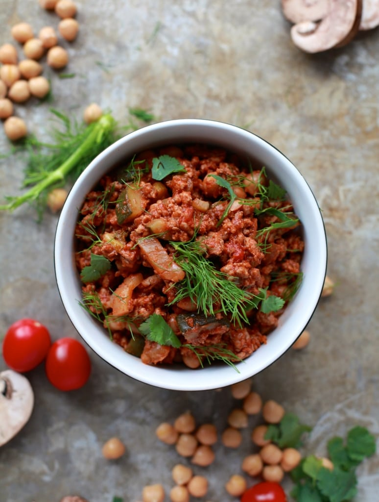 Sweet & Savoury Fennel Chickpea Turkey Ragout via Nutritionist in the Kitch // a fantastic blend of flavours, healthy, and filling! // nutritionistinthekitch.com