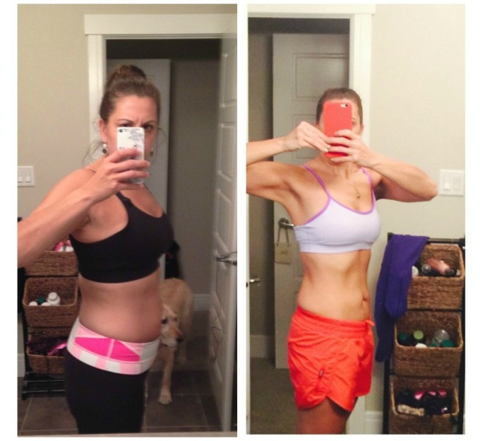 Nutritionist in the Kitch Client Success Stories - Stacey Before & After