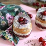 Cherry Chia Overnight Oats