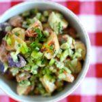 Light & Healthy Roasted Potato Salad