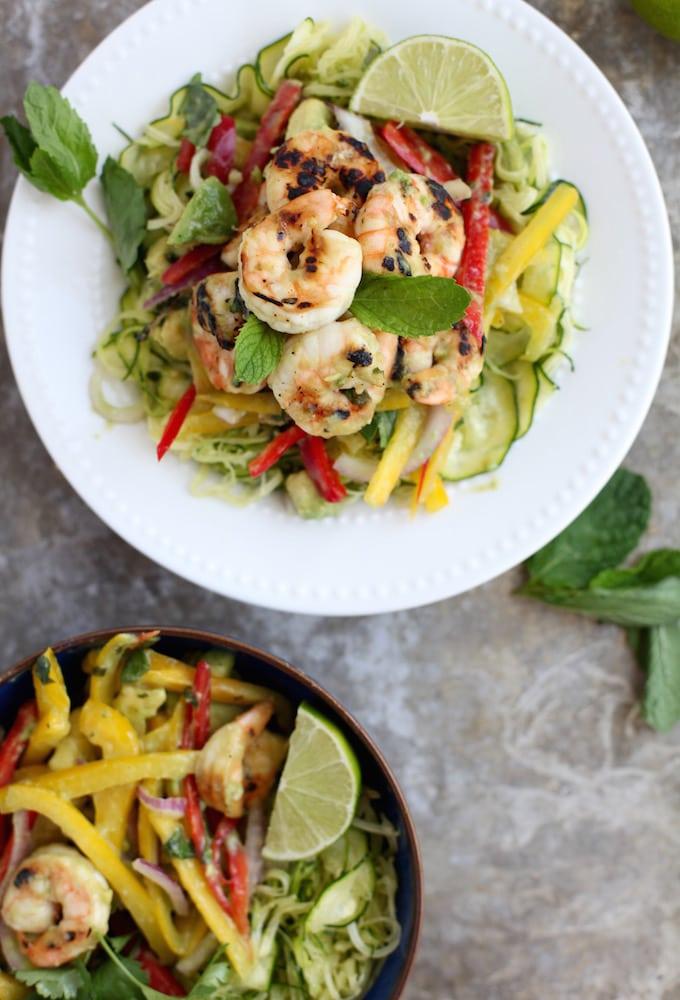 Mojito Prawn Salad